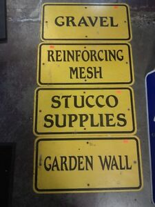 Various Hardware Signs
