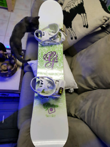 Snowboard with Bindings for sale!!