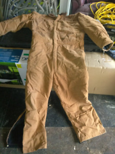 Lined winter coveralls size 2XL reg.