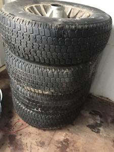 "4 Snow Tires (Michelin) 235-75-R15"" and Alloy Rims"