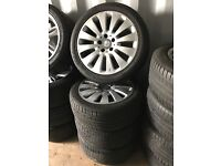 "17"" Mercedes alloy wheels alloys rims Vito a c b e class Audi seat skoda Vw Volkswagen 5x112"