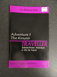 Traveller RPG Adventure 1: The Kinunir (GDW)
