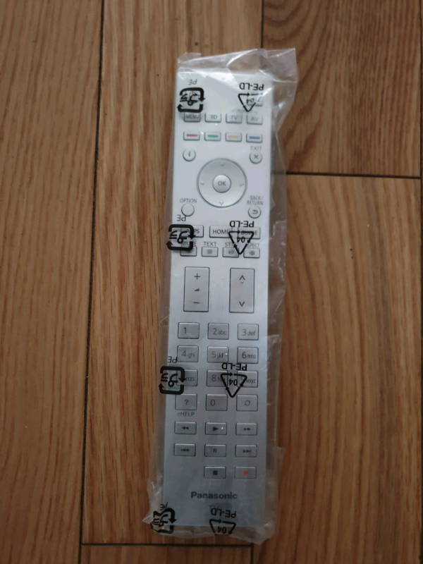 Panasonic TV Remote Control 3D Flagship Models | in Basildon, Essex |  Gumtree