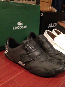 Lacoste size 8 used Black Shoes