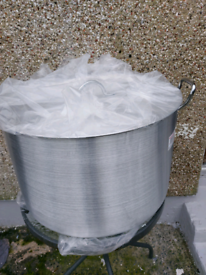 New 85litres commercial heavy duty cooking pot