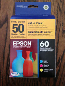 Epson Stylus Printer Ink Value Pack - New in Packaging!