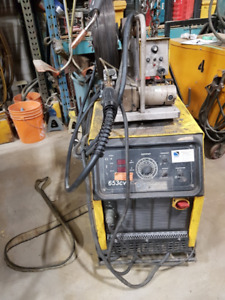 ESAB 653CVCC ARC and MIG WELDER 650 AMPS for sale