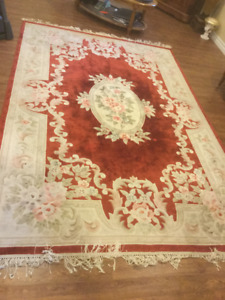 HAND MADE CHINESE 120L AREA RUG