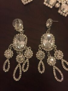 4 Pairs of Sparkling  Earing's
