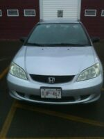 Civic 2005    ** 600km on a thanks**