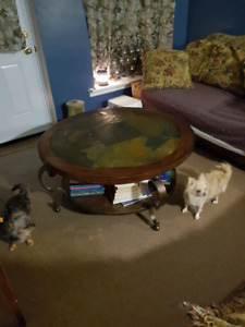 Tile Coffee Table and End Table