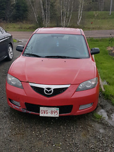 Mazda 3 . Motivated for quick sale