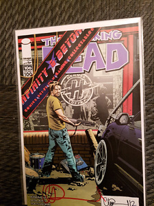 Walking dead 106 SIGNED WITH COA