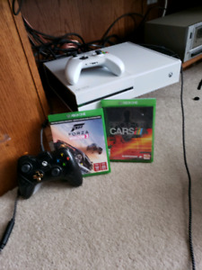 Xbox one 500gb with wheel+kinect