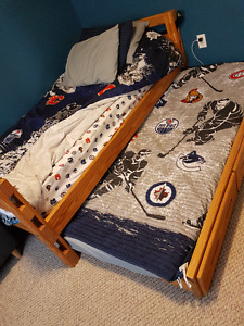 Crate Design Trundle Bed