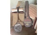 Dunlop squash raket