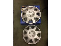 "Wheel trims 16"" x2 brand new / wheel / wheel trim / Ford / Vauxhall"