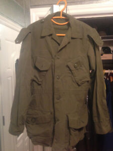 Military Combat Jacket, Pants and Boots