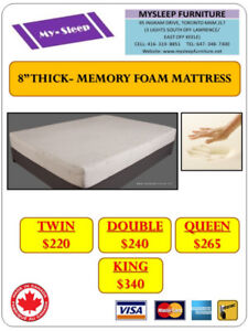 MATTRESS WAREHOUSE SALE- Pick up or we deliver for $25 and up