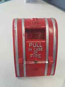 Edwards fire alarm pull station