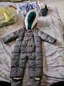Ted baker snowsuit 6-9 months