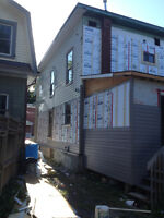 SIDING AND ROOFING INSTALLATION AND REPAIR AVAILABLE.