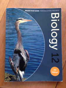 Grade 12 Biology Study Guide - Excellent Condition