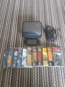 PSP w/ 15GB memory and 11 games ($100 OBO)