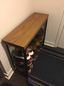 Oak Console Table $400 Or Best Offer