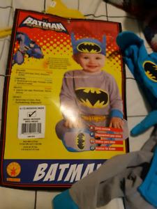Batman 6 to 12 month halloween costume