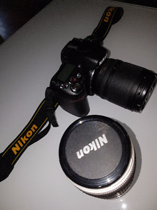 D80 Nikon w 2 lenses and all accessories