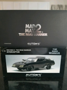 1:18 Diecast Autoart Mad Max 2 The Road Warrior Interceptor BNIB