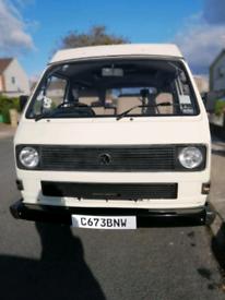 Volkswagen VW campervan T25 Poptop. 1.6 power steering Re built engine. Full MOT