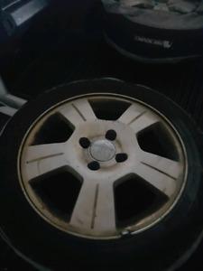 4 16 inch Ford 4x108 Focus wheels (fits Fiesta) $150