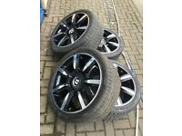"20"" Bentley alloy wheels alloys tyre tyres rims vw Audi seat skoda Volkswagen 5x112"