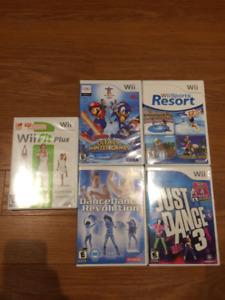 Lot de Jeux pour Wii (Sports et Danse)