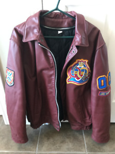Queen's University (Queen's Arts and Science) leather jacket