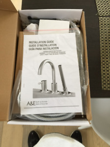 Bath tube faucet New in the box