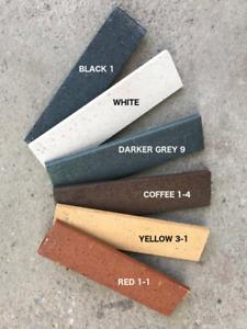 real clay thin brick veneer $3.99/sqft with order over 500sqft.