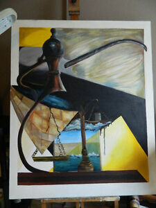 Original Art Oil Paintings Canadian Artist Gina Lemelin...