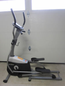 Tempo Elliptical 610E gym weights exercise