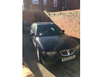 Rover 45 for sale spares or repair