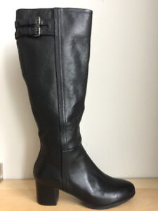 GEOX Tall Leather Boots Size 6 / 36