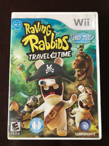 Wii - Lapins crétins (Raving Rabbids : Travel in time)