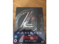 Marvel Avengers Age of Ultron Zavvi Ltd Edition Steelbook Blu Ray