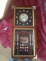 Clock (pool table themed)