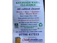 All rubbish clearance, waste removal, houses cleared and demolition,cheaper than a skip