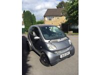 Smart passion softouch 600cc automatic panoramic glass roof 62k genuine mileage