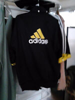 zipper adidas shirt