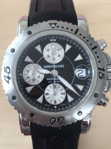 MINT Montblanc Meisterstuck sport date Chronograph NEGO
